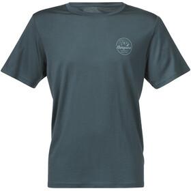 Bergans Graphic Wool T-Shirt Herren forest frost/light forest frost